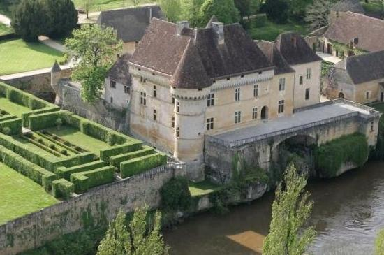 Thonac, France: from the sky