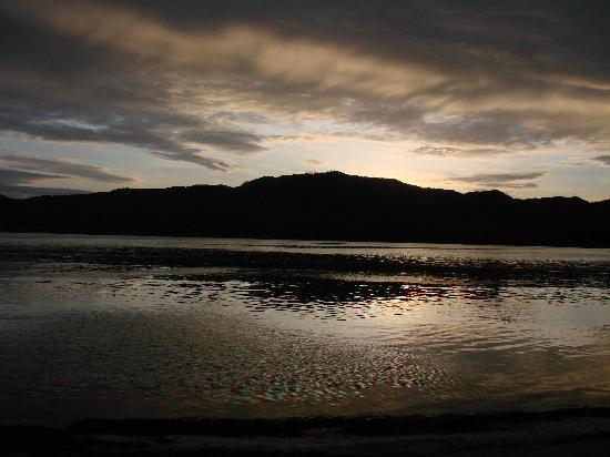 Iles des Palmes: coucher de soleil