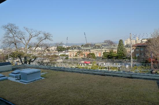 Hyatt Regency Kyoto : The view from our room