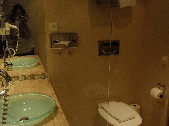 Clarion Hotel Sign : Baño
