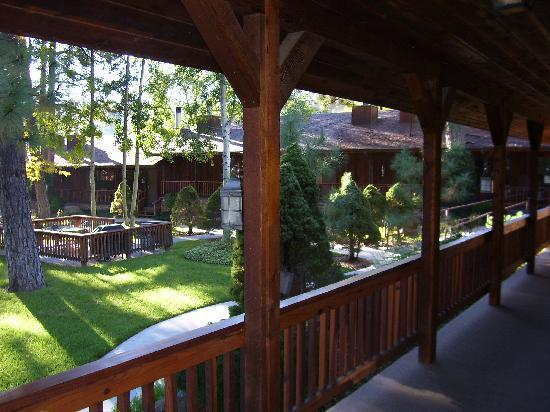 Shadow Mountain Lodge and Cabins: view