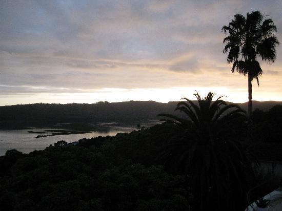 Villa Afrikana Guest Suites : Blick vom Balkon
