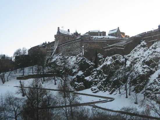 Gerald's Place: Snowy Edinburgh!