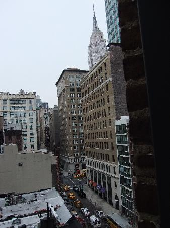 Hotel 31: The view from our room