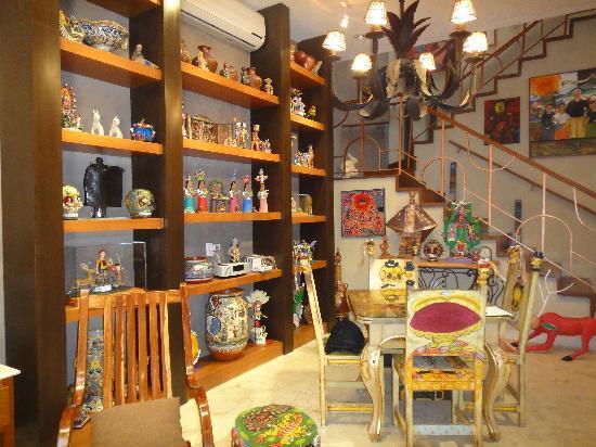 Casa de los Venados : The living room