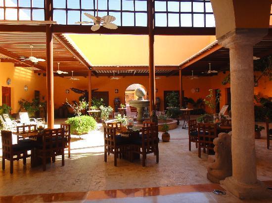 Casa de los Venados : The courtyard
