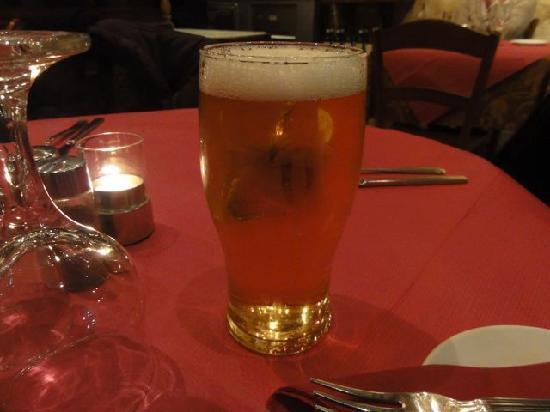 Papannis Italian Restaurant: Beer