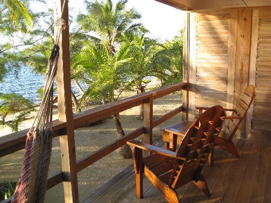 Deep Blue Resort Utila: From our balcony