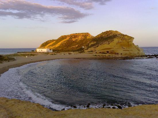Aguilas, Hiszpania: Playa de los Cocedores. Cuatro calas