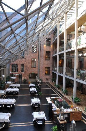 Hotel Monopol: restaurant