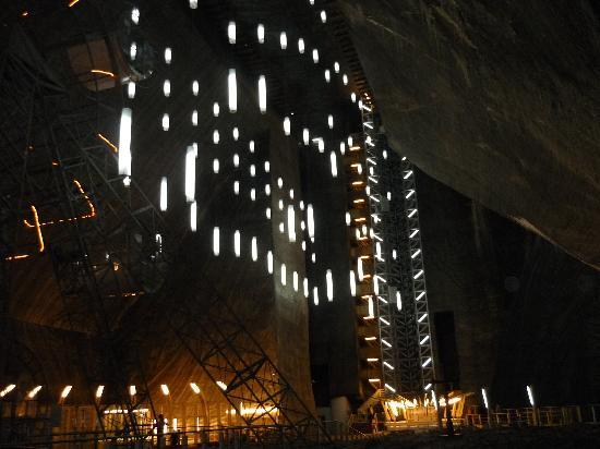 ‪‪Turda‬, رومانيا: Turda - the salt mine- Romania‬