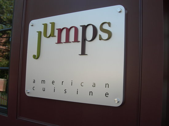 JUMPS exterior sign