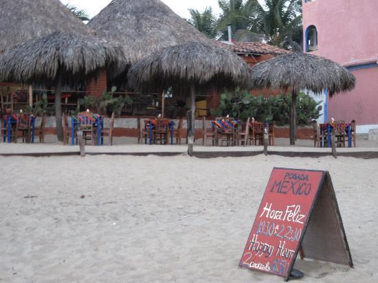 Zipolite, Mexiko: Posada Mexico 1