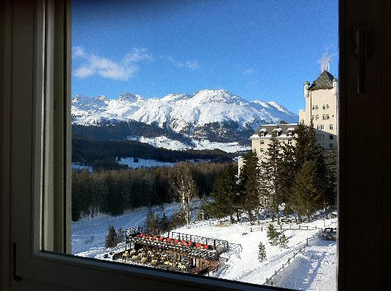Grand Hotel Kronenhof: View from our room