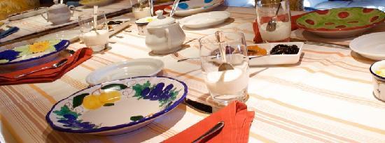 Monticchiello, Italia: sala colazioni
