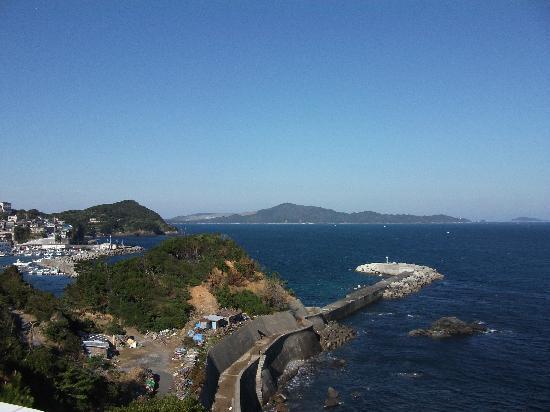 Hotel Ijikaso : 伊勢湾を望む