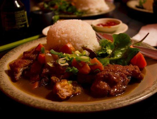 Samurai: chicken curry