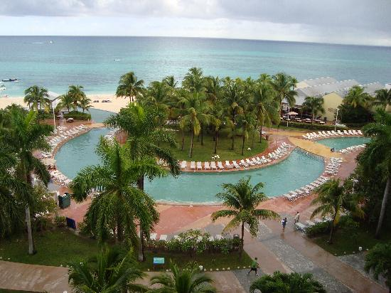 Grand Lucayan, Bahamas: View from our 8th-story hotel room