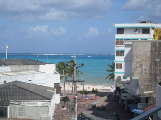 Hotel Verde Mar : Desde el balcon del hotel