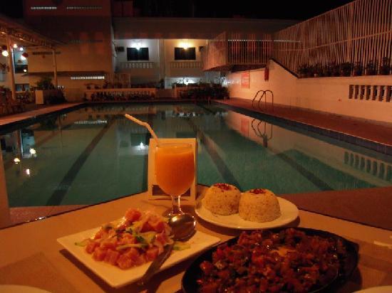 Grand Menseng Hotel: ihaw ihaw