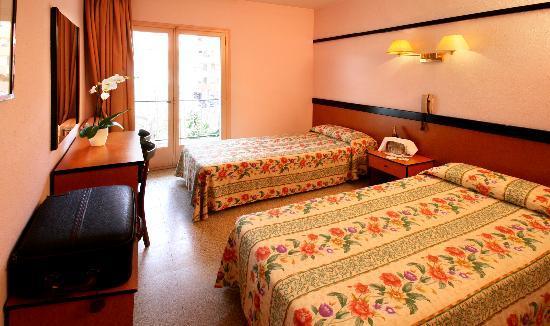 Hotel Guitart Park III: Habitación
