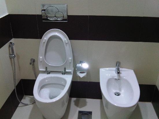 Cassells Al Barsha Hotel : Toilet