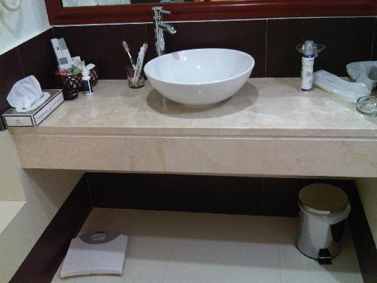 Cassells Al Barsha Hotel : Bathroom
