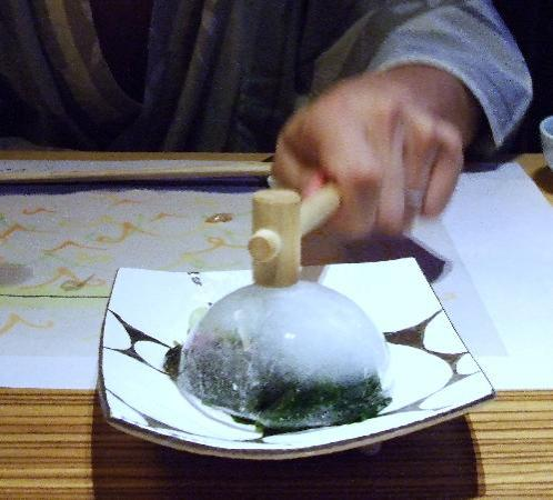 Hotel Ofutei : ジャーン!氷ボール☆
