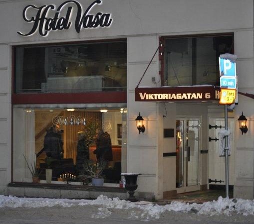 Hotel Vasa: Particolare reception