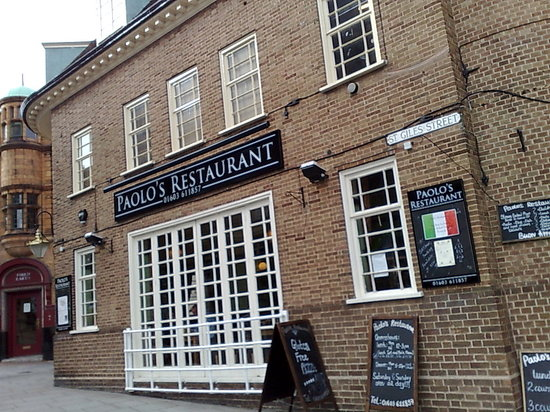 Paolo's Restaurant: Paolo's Pizzeria, Norwich