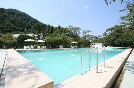 Kawachinagano, Japón: 緑の中の屋外プール(夏季のみ)