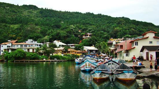 Barra da Lagoa, SC: Canal de barra