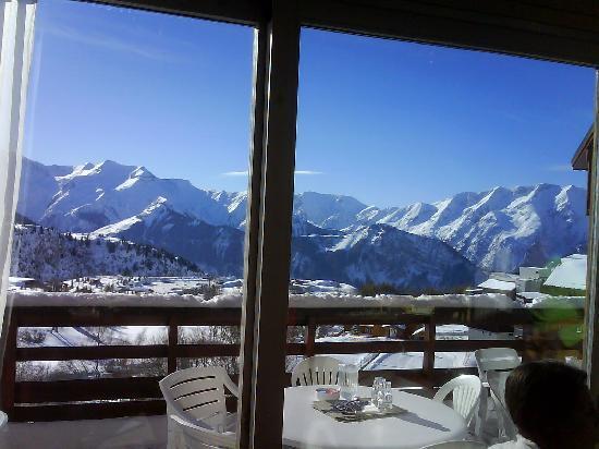 Club Med L 'Alpe d'Huez la Sarenne : Très belle vue du restaurant, Non ?