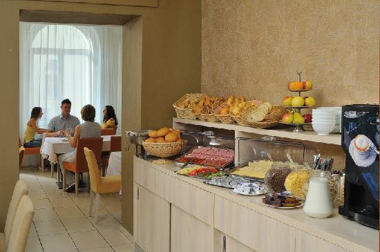 Star City Hotel: Breakfast room
