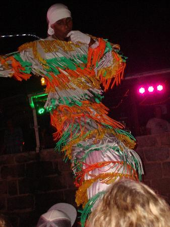 Saint Michael Parish, Barbados: stilt dancing