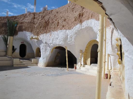Matmata, Tunisia: le bar