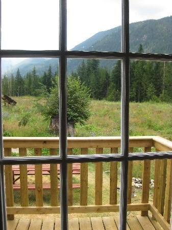 Crazy Creek Resort: One of the views from our window