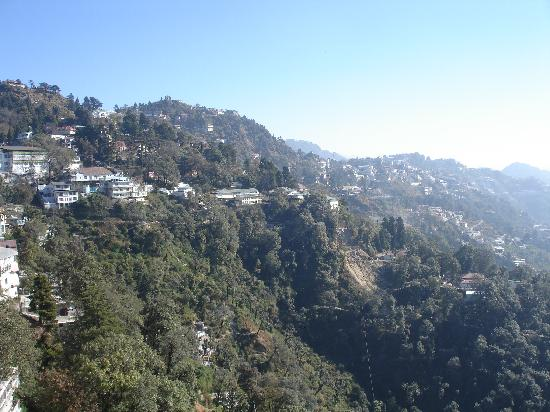 GMVN Garhwal Terrace: View from hotel window