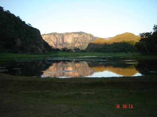 Bermejo, Bolivia: Vista desde las cabañas