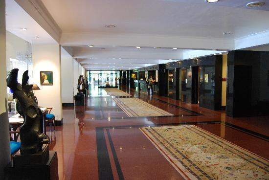 The Oberoi: Hall del hotel