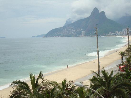 Hotel Arpoador: View from my room2 - towards Leblon