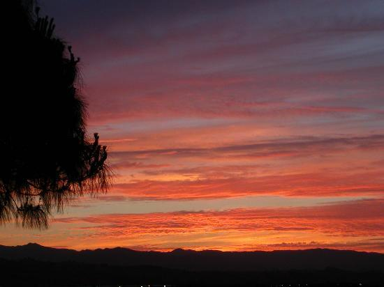 Vacaville, CA: sunset