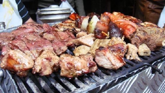 Andres Carne de Res : Parrillada para 2.. que comimos entre 5