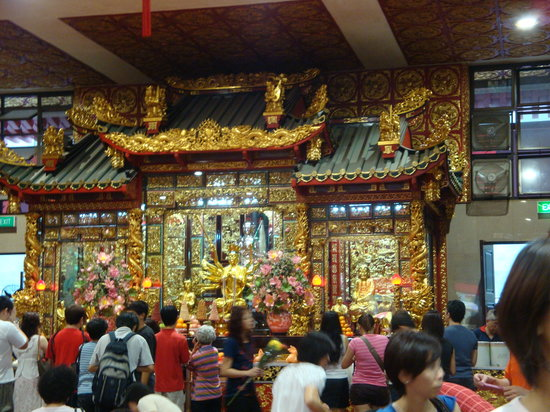 Bugis, Singapore: 寺院内