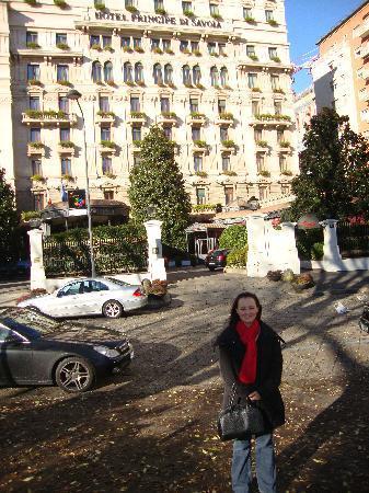 Hotel Principe Di Savoia: Hotel facade