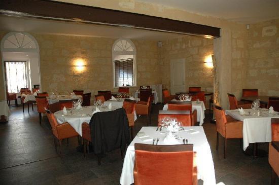 Restaurant des Girondins : grande salle