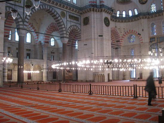 Suleymaniye Mosque - Interior
