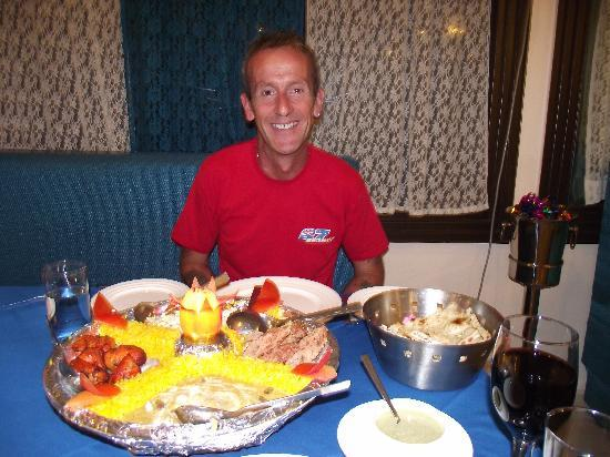 Taj Mahal Restaurant: Mini buffet for 2