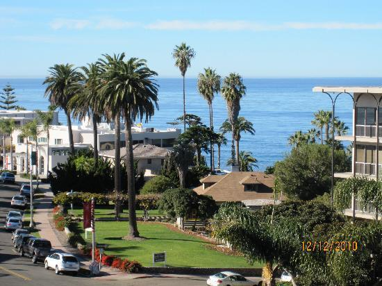 Inn by the Sea: View from our room #514