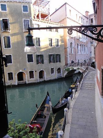Hotel Riva: View from the side window